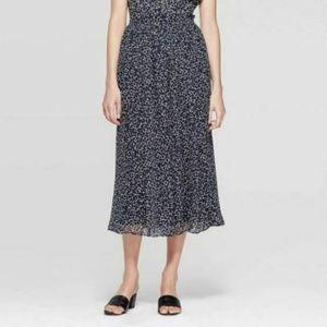 Women's Flowy A Line Midi Skirt - Who What Wear